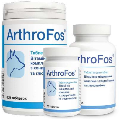 купити Dolfos (Долфос) ArthroFos Вітамінно-мінеральний комплекс АртроФос для собак з глюкозаміном і хондроїтином в Одеси