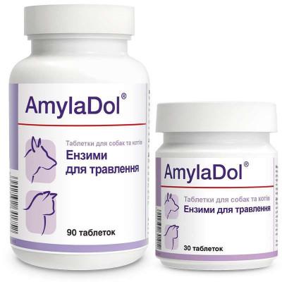 купити Dolfos (Долфос) AmylaDol Вітамінно-мінеральний комплекс для собак і кішок при порушенні травлення в Одеси