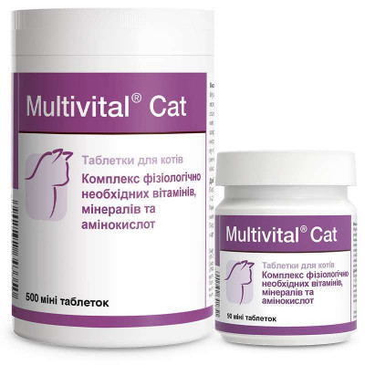 купити Dolfos (Долфос) Multivital Cat Комплекс вітамінів і мінералів для котів та кошенят в Одеси