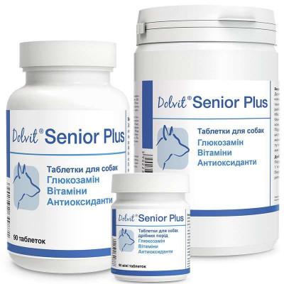 Dolfos (Долфос) Dolvit Senior Plus Таблетки для собак від 7 років для запобігання процесу старіння