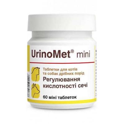 купити Dolfos (Долфос) UrinoMet MINI Уріномет Таблетки для кішок і дрібних собак з проблемами сечостатевої системи в Одеси