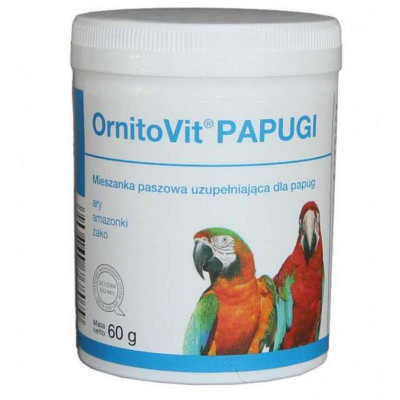 Dolfos (Долфос) Ornitovit Parrots Вітамінно-мінеральна добавка для великих папуг, 60 г