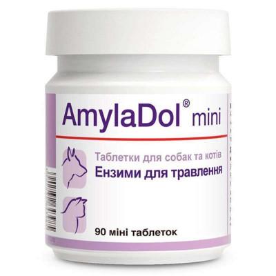 купити Dolfos (Долфос) AmylaDol MINI Вітамінно-мінеральний комплекс для собак малих порід і кішок при порушенні травлення в Одеси