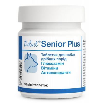 Dolfos (Дольфос) Dolvit Senior Plus Таблетки для собак дрібних порід від 7 років для запобігання процесу старіння