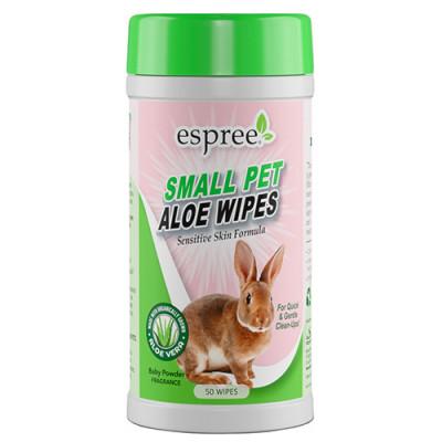 купити Espree (Еспрі) Small Animal Wipes Вологі серветки для шкіри і шерсті дрібних тварин в Одеси