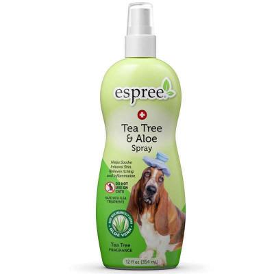 купити Espree (Еспрі) Tea Tree & Aloe Medicated Spray Заспокійливий спрей для собак з проблемною шкірою в Одеси