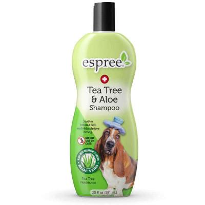 купити Espree (Еспрі) Tea Tree & Aloe Shampoo Шампунь з олією чайного дерева і алое вера для собак в Одеси
