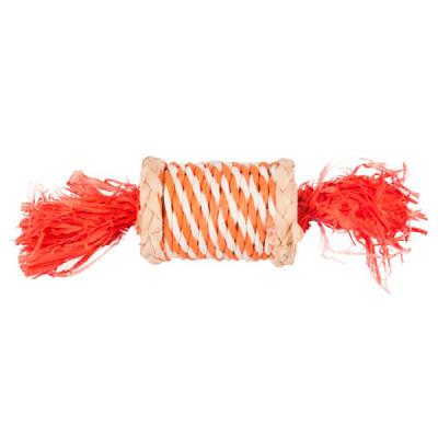 Flamingo Role N Rustle ФЛАМІНГО Роулі розбестив цукерка з соломи іграшка для гризунів, 17 см