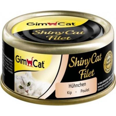 купити GimCat Shiny Cat Filet з куркою, 70 г в Одеси