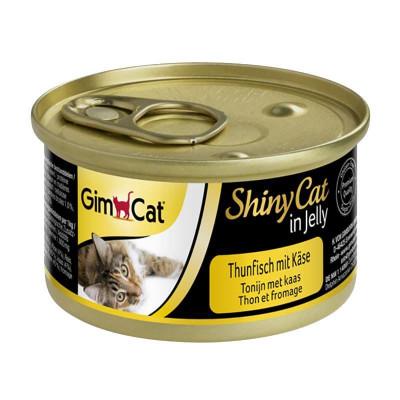 купити GimCat Shiny Cat з тунцем і сиром, 70 г в Одеси