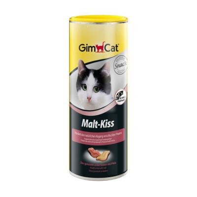 купити GimCat Malt Kiss Ласощі у вигляді поцілунків для виведення шерсті 600 шт в Одеси