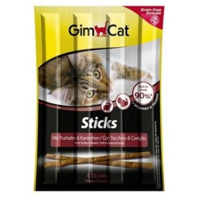 купити GIM Cat Палочки индейка кролик 4шт 420530 Джимпет в Одеси