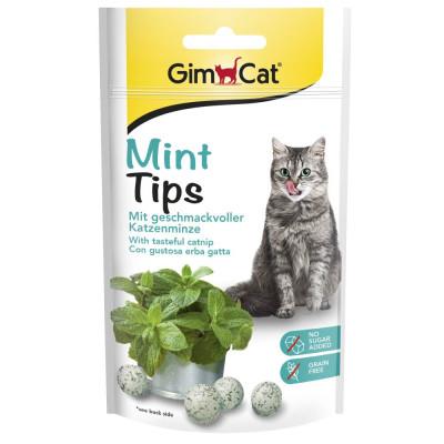 купити GimCat Mint Tips Вітамінізовані ласощі з м'ятою для котів 40 гр в Одеси