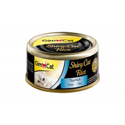 купити GimCat Shiny Cat Filet з тунцем, 70 г в Одеси