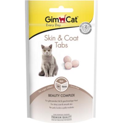 купити GimCat Every Day Skin & Coat Tabs Таблетки для здоров'я шкіри та шерсті для котів 40 гр в Одеси