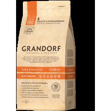 Grandorf Turkey & Brown Rice - Adult Sterilized - Індичка для стерилізованих котів