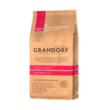 Grandorf Adult Medium Breed - ягня з рисом для дорослих собак середніх порід