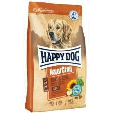 Happy Dog NaturCroq Rind & Reis для дорослих собак всіх порід з яловичиною та рисом