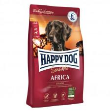 Happy Dog Sensible Africa (без злаків) для дорослих собак при алергіях та харчовій непереносимості зі страусом та картопляними пластівцями