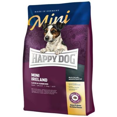 купити Happy Dog Mini Ireland для собак дрібніх порід з чутливим травленням з кроликом і лососем в Одеси