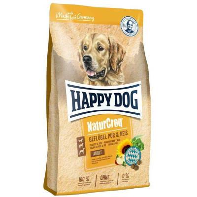купити Happy Dog Naturcroq Geflugell Pur&Reis  для дорослих собак всіх порід з птицею та рисом в Одеси