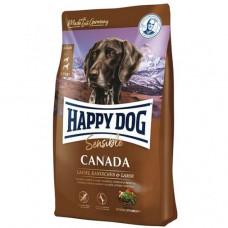 Happy Dog Sensible Canada (без злаків) для дорослих собак з підвищенною чутливістю з лососем і м'ясом кролика