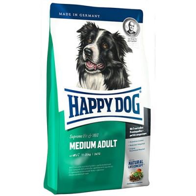 купити Happy Dog FIT & WELL MEDIUM ADULT корм для дорослих собак середніх порід в Одеси