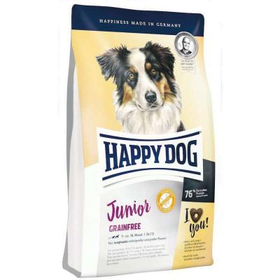 купити Happy Dog Junior Grainfree беззерновой з картоплею і птицею для собак з чутливим травленням з 7-ми місяців в Одеси