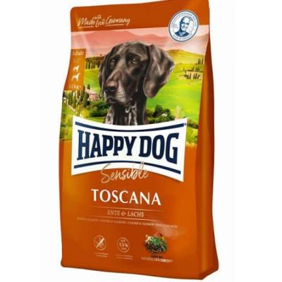 купити Happy Dog Sensible Toscana для кастрованих собак та собак з надмірною вагою з качкою та лососем в Одеси