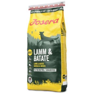 Josera (Йозера) Lamm & Batate беззерновий корм для дорослих собак