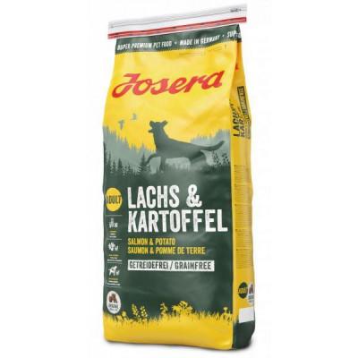 Josera (Йозера) Lachs & Kartoffel беззерновий корм для собак з помірною активністю
