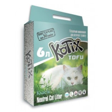 KOTIX TOFU (ТОФФУ) соевый наполнитель, 6 л