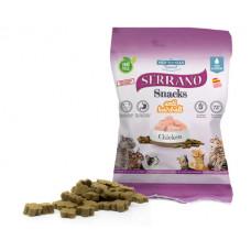 Serrano Snacks Ласощі курка для котів 100 гр