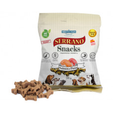 Serrano Snacks Ласощі для собак лосось-тунець 100 гр