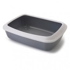 Savic Iriz Cat Litter Tray САВІК АЙРІЗ туалет з бортиком для котів