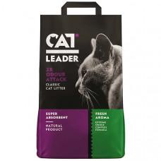 Кет Лідер (CAT LEADER) Подвійна свіжість супер всмоктуючий наповнювач в котячий туалет