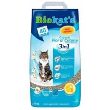 Наполнитель Biokat's FIOR de COTTON 3in1