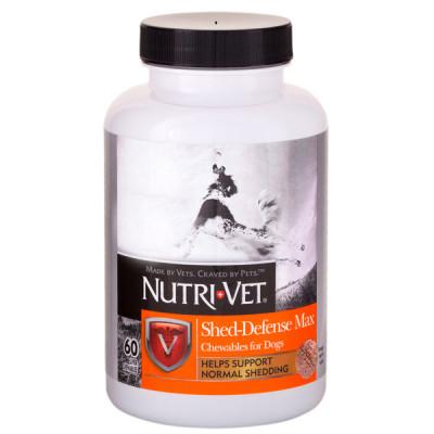 купити Nutri-Vet Shed-Defense Max НУТРІ-ВЕТ ЗАХИСТ ШЕРСТІ вітамінний комплекс для шерсті собак з Омега-3, Омега-6 в Одеси