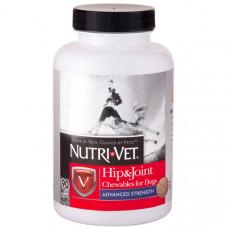 Nutri-Vet Hip&Joint Advanced НУТРІ-ВЕТ ЗВ'ЯЗКИ І СУГЛОБИ АДВАНСИД, 3 рівень, глюкозамін і хондроїтин з МСМ для собак