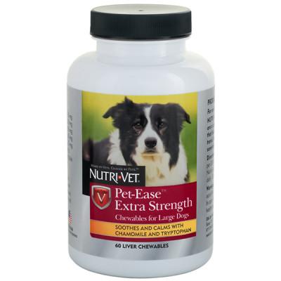 купити Nutri-Vet Pet-Ease Extra Strength НУТРІ-ВЕТ АНТИ-СТРЕС ЕКСТРА заспокійливий засіб для собак середніх і крупних порід, жувальні таблетки в Одеси