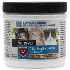 Nutri-Vet Milk Replacement НУТРІ-ВЕТ МОЛОКО ДЛЯ КОШЕНЯТ сухий замінник котячого молока для кошенят, 170 гр