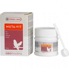Oropharma Muta-Vit Харчова добавка, вітаміни для оперення птахів, 25 г