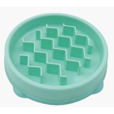 купити Outward Hound Fun Feeder Slo-Bowl Tiny Миска-лабіринт для собак дрібних порід і кішок, бірюзова в Одеси