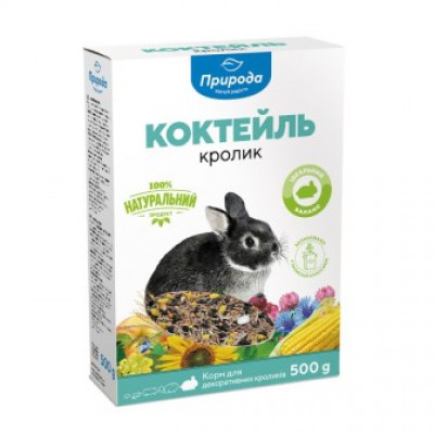 Корм Коктейль Кролик 500 гр