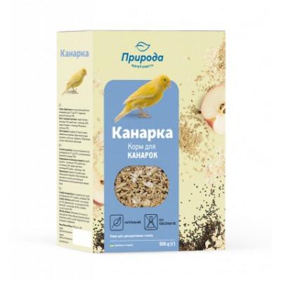 купити Корм Природа «КАНАРКА» для канарок і декоративних птахів 500 гр в Одеси