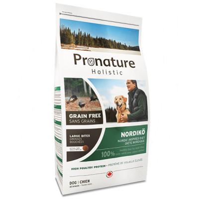купити Pronature Holistic (Пронатюр Холістік) Nordikо Large Bites індичка з ягодами корм для собак середніх і великих порід в Одеси