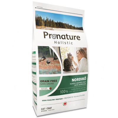купити Pronature Holistic (Пронатюр Холістік) Nordikо індичка з ягодами корм для котів в Одеси