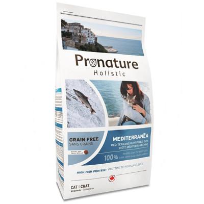 купити Pronature Holistic (Пронатюр Холістік) Mediterranea лосось з в'яленими томатами корм для котів в Одеси