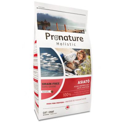 купити Pronature Holistic (Пронатюр Холістік) Asiato Small Bites риба сиг з папайей корм для котів в Одеси
