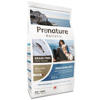 купити Pronature Holistic (Пронатюр Холістік) Mediterranea Small Bites лосось з в'яленими томатами корм для собак міні і малих порід в Одеси